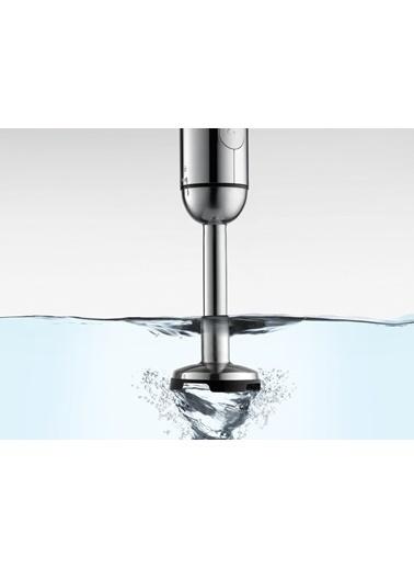 Quail Quail 88930 BPA İÇermeyen Çelik Silver El Blender Seti Renkli